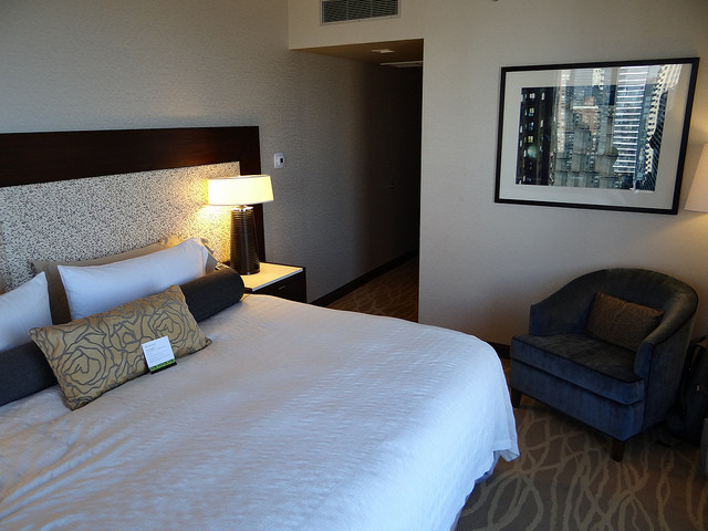 Hotel Intercontinental Hotel Time Square New York Room 2826