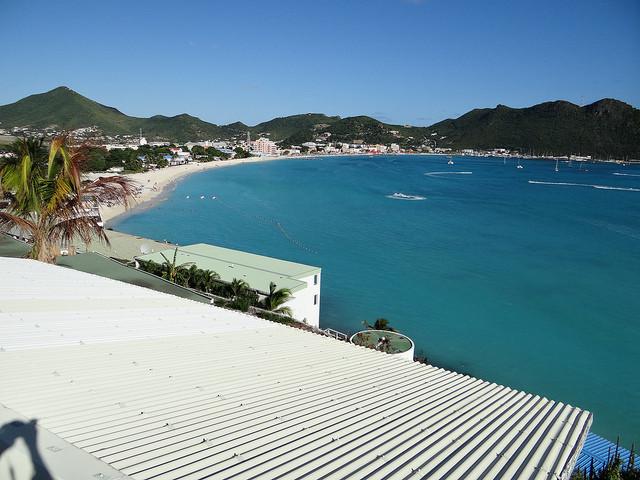 Philpsburg in St Maarten Caribbean