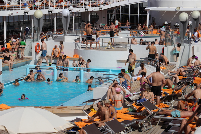 Msc cruises tips my observations review and top cruising for European pool show