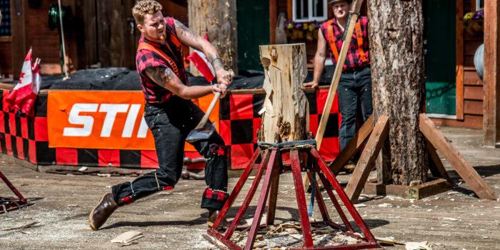 Great Lumberjack Show Ketchikan Alaska