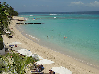 Beach on Barbados West Coast: Fairmont Royal Pavillion