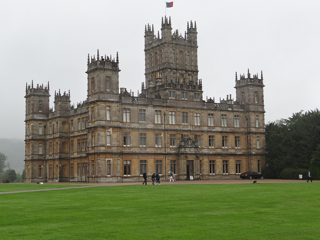 Highclere Castle (also known on TV as