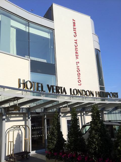 hotel verta heliport battersea london thoughts and review tips for travellers. Black Bedroom Furniture Sets. Home Design Ideas